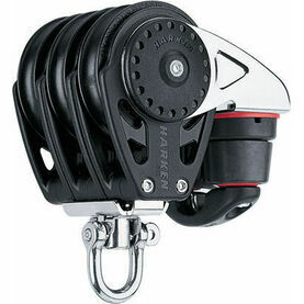 Harken 57 mm Triple Block Swivel, Cam Cleat