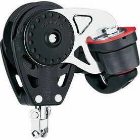 Harken 57 mm Ratchetchamatic Block Swivel, Cam Cleat