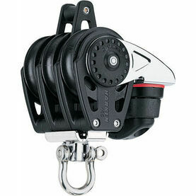Harken 40 mm Triple Block Swivel, Becket, Cam Cleat