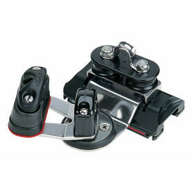 Harken 22 mm High-Load 1250 Car Pivoting Sheaves, Swivel Cam