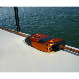 Spinlock XXC Powerclutch,Amber,Sidemount Starboard - Bonded