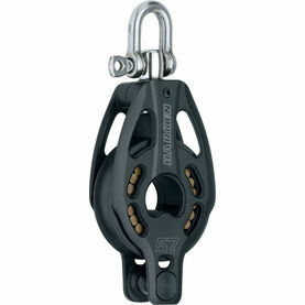 Harken 57 mm Aluminum Block Swivel, Becket
