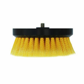 Shurhold Soft Split End Yellow Polystyrene Buffing Brush - 6.5""