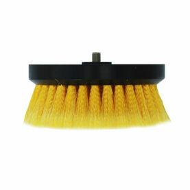"Shurhold Soft Split End Yellow Polystyrene Buffing Brush - 6.5"""