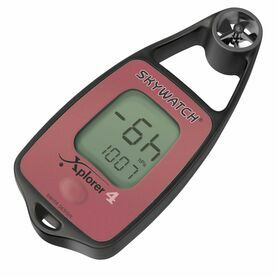Skywatch Xplorer 4 Handheld Anemometer - Wind, Temp, Compass & Barometer