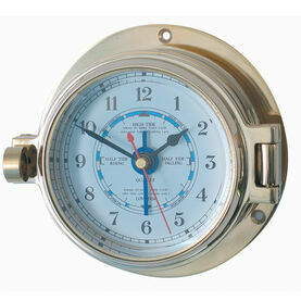 Meridian Zero Solid Brass Channel Tide Clock