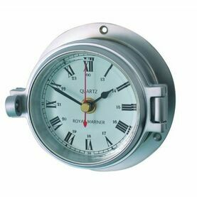 Meridian Zero Matt Chrome Channel Clock