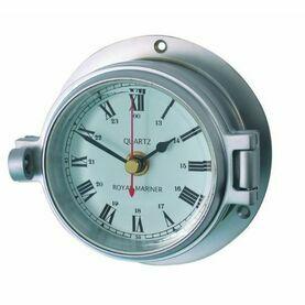 Meridian Zero Matt Chrome Channel Clock
