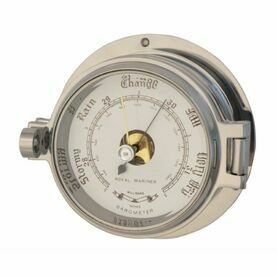 Meridian Zero Polished Chrome Channel Barometer