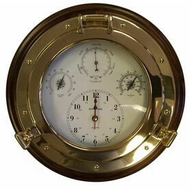Meridian Zero in Wooden Mount Porthole Weatherman 4 in 1 - 14""