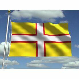 Meridian Zero Dorset Flag - 30 x 45cm