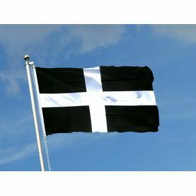 Meridian Zero Cornwall Flag - 30 x 45cm