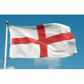 Meridian Zero England St. Georges Flag - 30 x 45cm