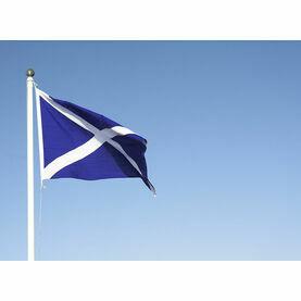Meridian Zero Sewn Scotland St. Andrew Flag - 30 x 45cm (Saltire)