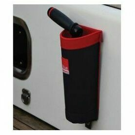 Winch Handle Bag - Red/Grey