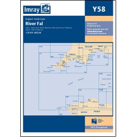 Imray Y58 River Fal - Falmouth to Truro