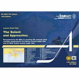 Admiralty SC5600 Solent & Approaches (Small Craft Chart Folio)