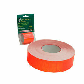 Reflexite Grid Tape: 50mmx50M - Red