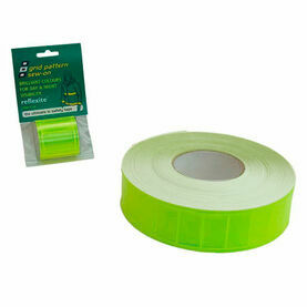 Reflexite Grid Tape: 50mm x 1M - Lime