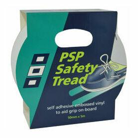 Safety Tread Tape: 50mm x 5M - White