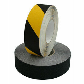 Heavy Duty Safety Tread: 50mm x 18M - Hazard
