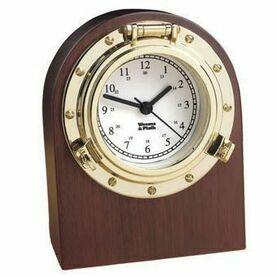 Weems & Plath Porthole Collection - Desk Clock