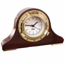 Weems & Plath Nautical Tambour Clock