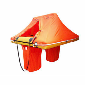 WAYPOINT 2 Person Coastal Single Tube Liferaft - Valise