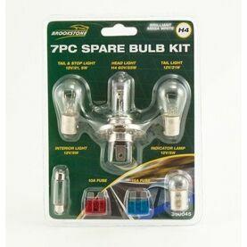 Brookstone 7 piece Spare Bulb Kit - H4