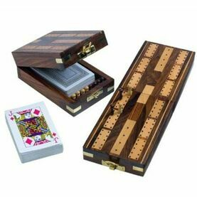 Nauticalia Wooden Cribbage Set