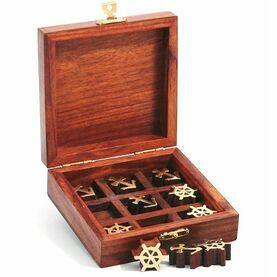 Nauticalia Tic Tac Toe Wooden Game