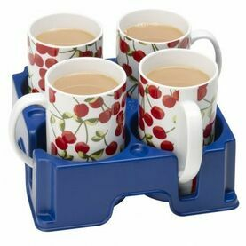 Muggi Super Safe Cup & Mug Tray - Blue