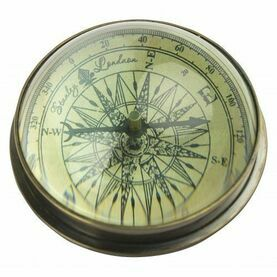 Nauticalia Classic Domed Compass Paperweight
