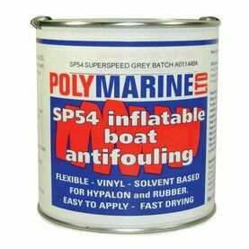 SP54 Hypalon Antifoul  1L - Black