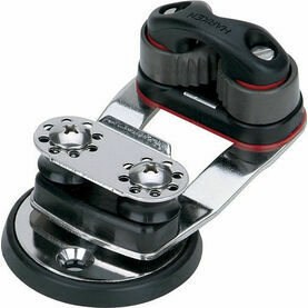 Harken Micro Cam Base Swivel, 16 mm Sheaves