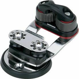Harken Micro Cam Base Swivel, 16 mm Sheaves