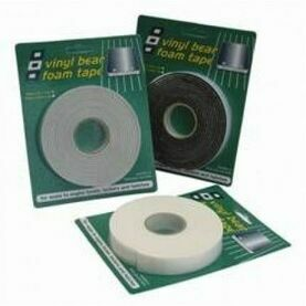 PSP Tapes Vinyl Foam Tape: 12mm x 3mm x 25M