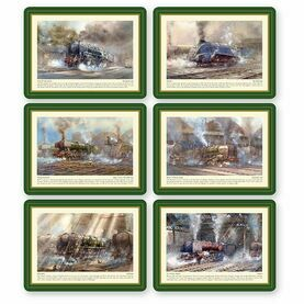 Nauticalia Steam Train Tablemats
