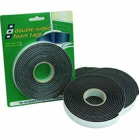 PSP Tapes Double Vinyl Foam Tape: 19mm x 3mm x 3M