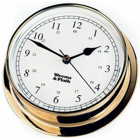 Weems & Plath Endurance 125 Clock (Brass)