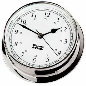 Weems & Plath Endurance 125 Quartz Clock (Chrome)