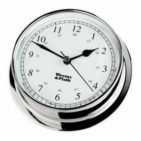 Weems & Plath Endurance 085 Chrome Clock