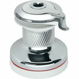 Harken 40 Self-Tailing Radial White Winch 2 Speed