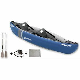 Sevylor Inflatable Kayak 2 Person Adventure Kit