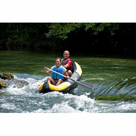 Sevylor Colorado Kit - 2 Person - Yellow with Pump & 1 Paddle