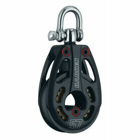 Harken 57 mm Aluminum Low-Load Block Swivel