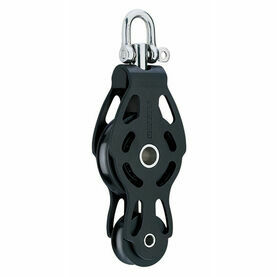 Harken 75 mm Aluminum Fiddle ESP Block Swivel