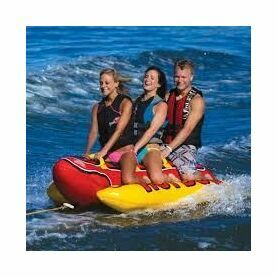 Airhead Hot Dog - 3 Person Towable Inflatable
