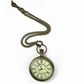 Nauticalia Greenwich Meridian Pocket Watch