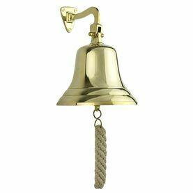 "Nauticalia 6 Quayside Bell with Lanyard"""